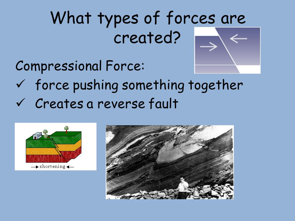 What types of forces are created