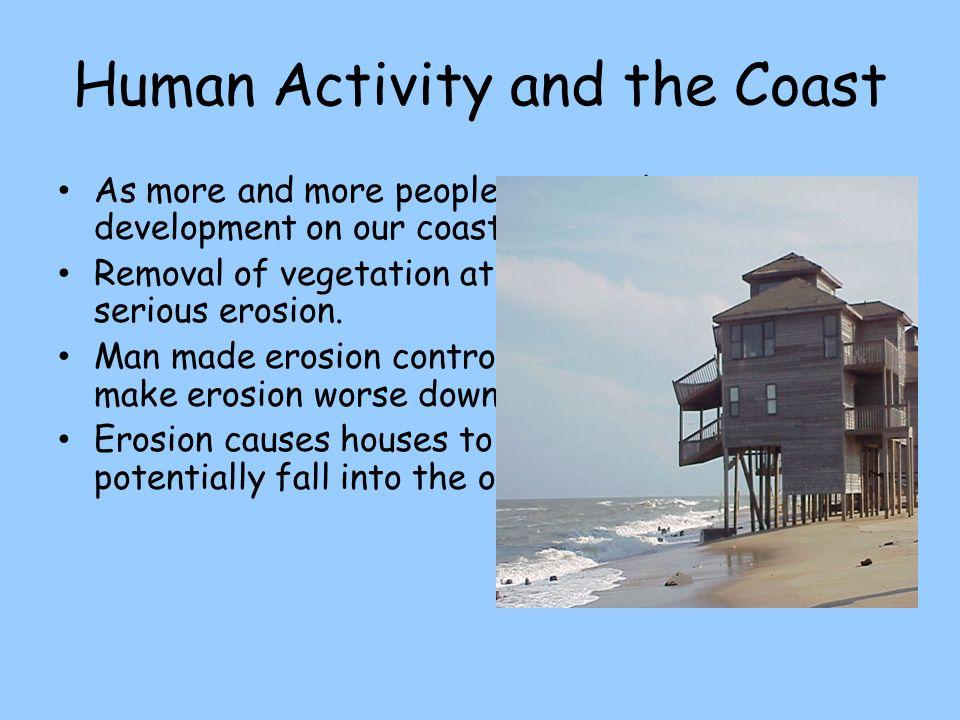 Human Activity and the Coast