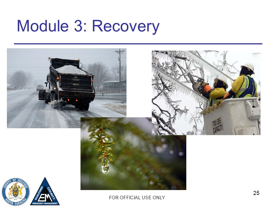 Module 3: Recovery