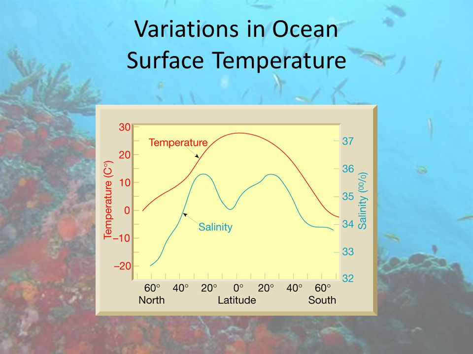 Variations in Ocean Surface Temperature