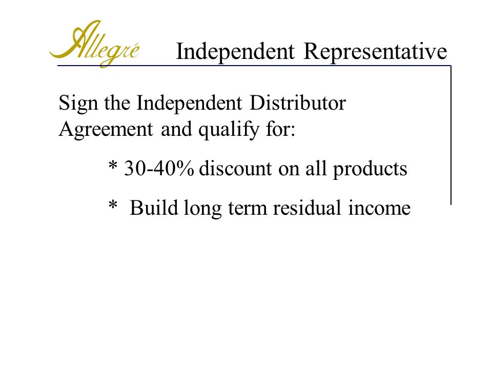 Independent Representative