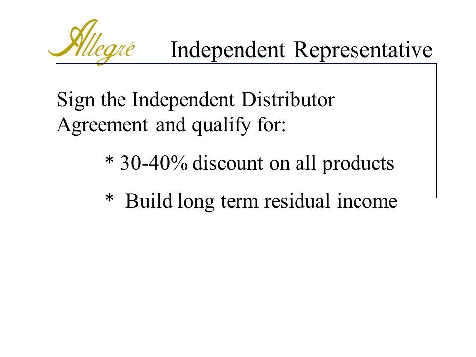 Independent Representative