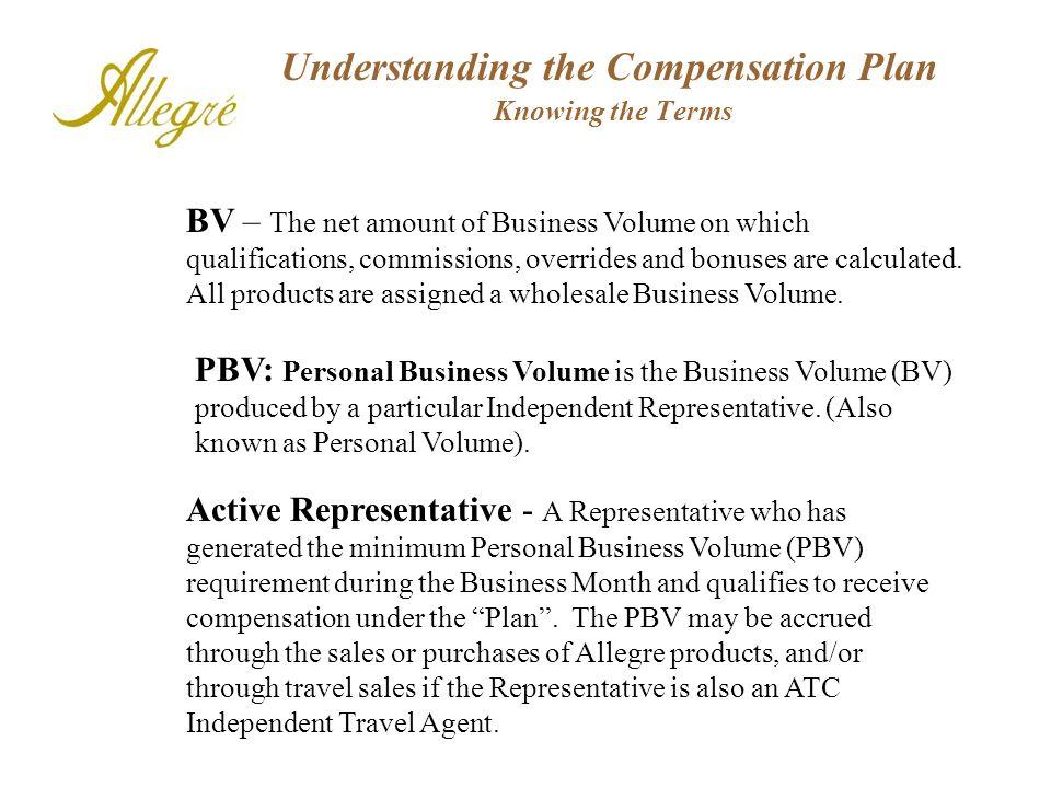 Understanding the Compensation Plan