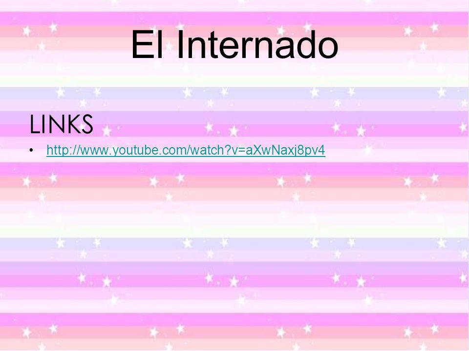 El Internado LINKS http://www.youtube.com/watch v=aXwNaxj8pv4