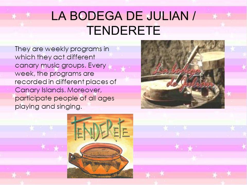 LA BODEGA DE JULIAN / TENDERETE