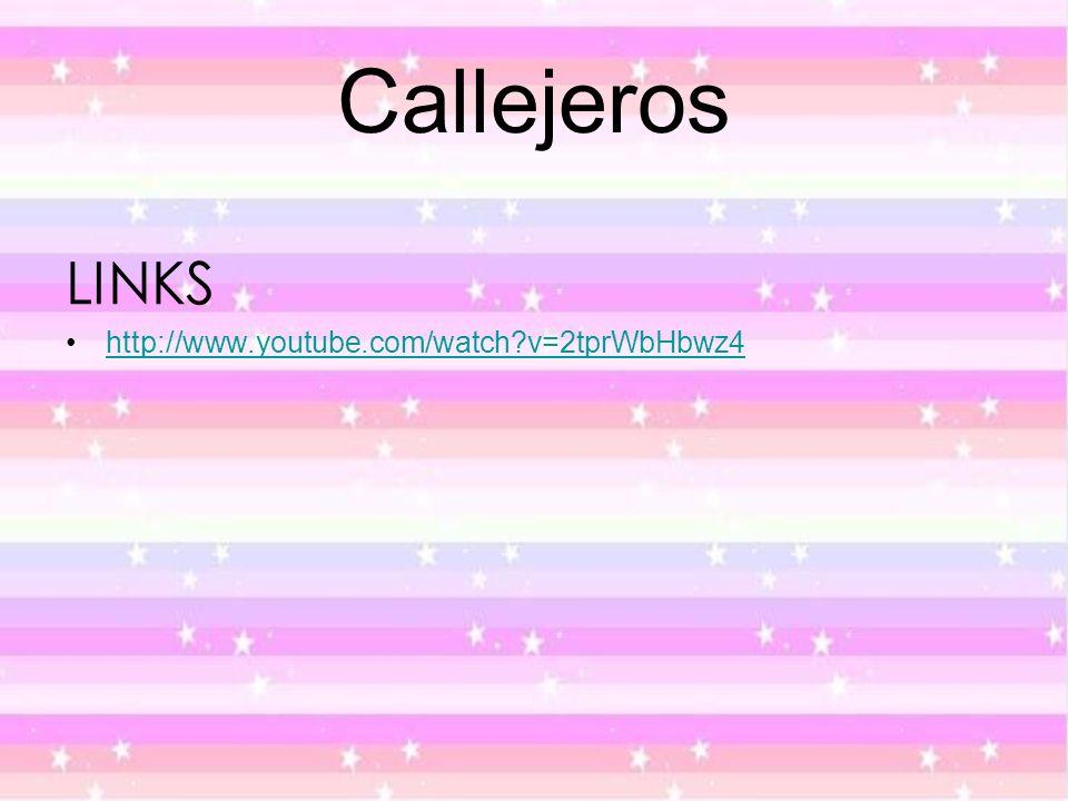 Callejeros LINKS http://www.youtube.com/watch v=2tprWbHbwz4