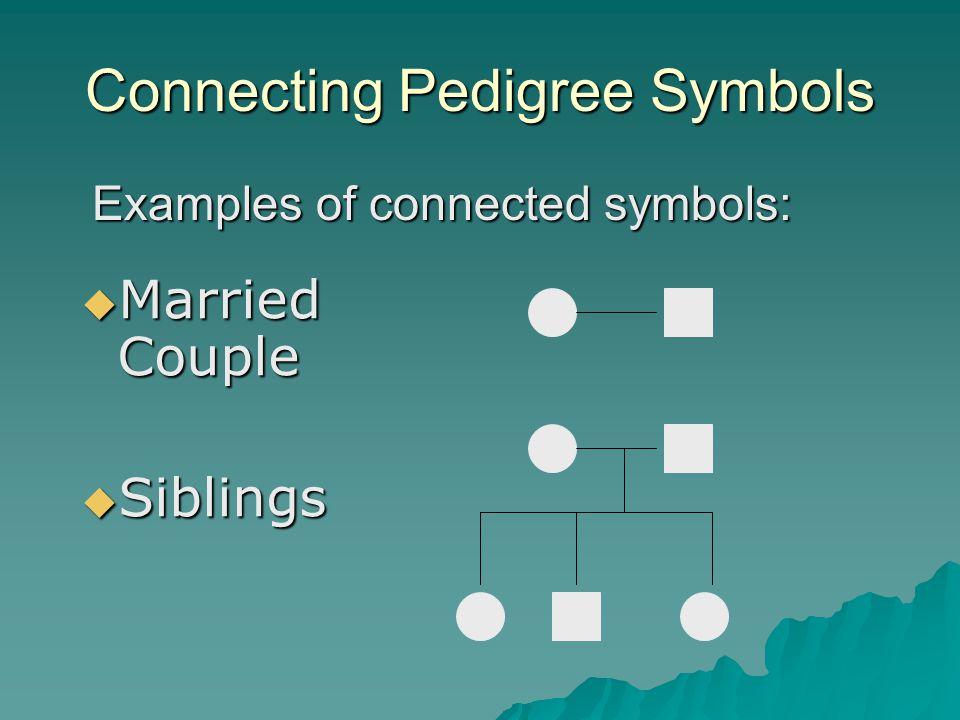 Connecting Pedigree Symbols