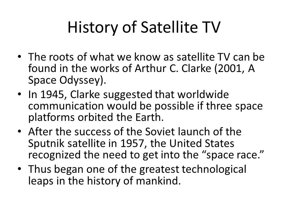 History of Satellite TV