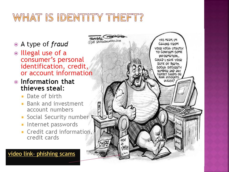 What Is Identity Theft A type of fraud