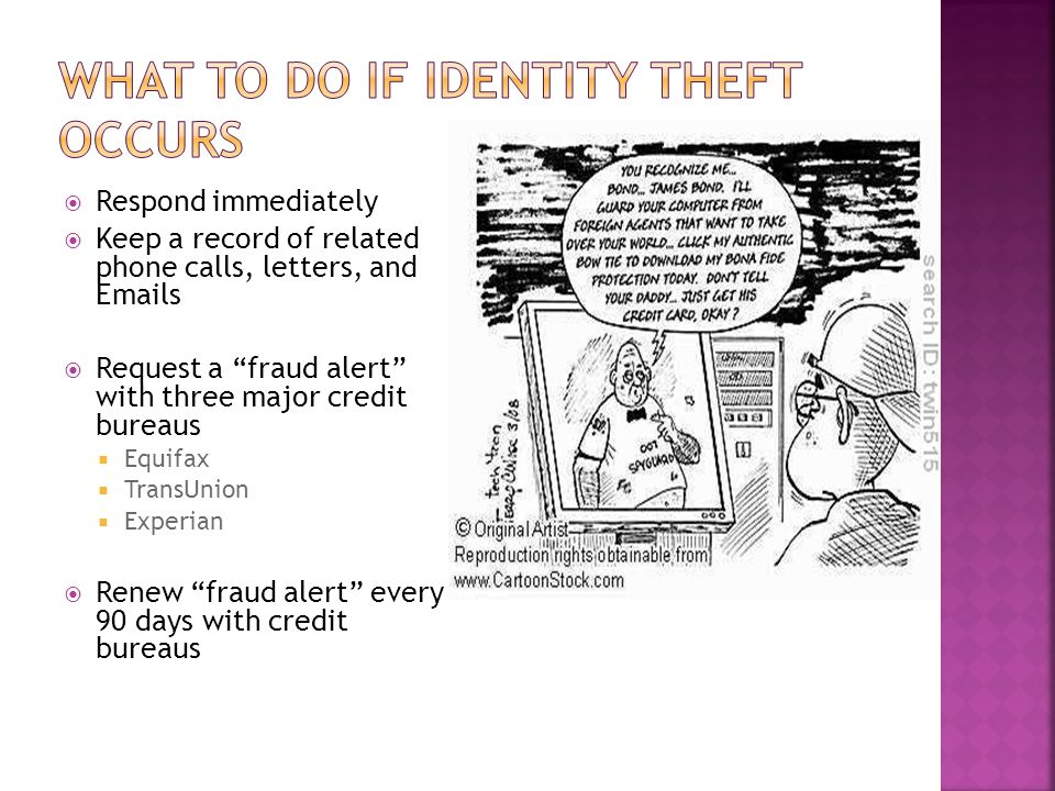 what is identity theft Identity theft occurs when someone steals your identity to commit fraud.