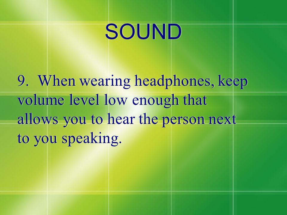 SOUND 9.