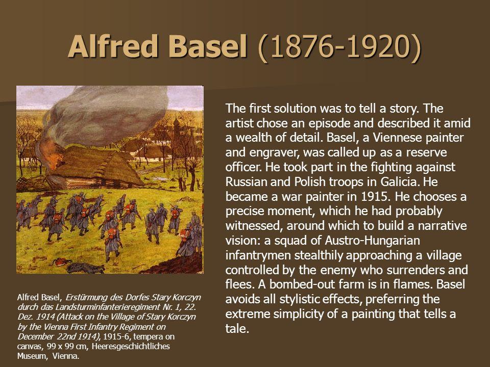 Alfred Basel (1876-1920)