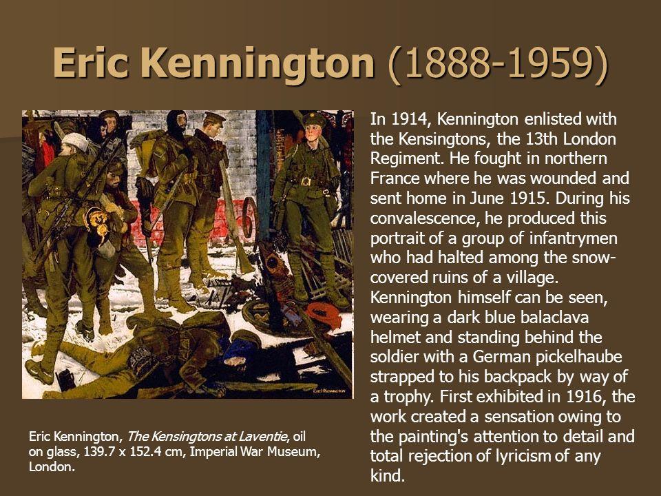 Eric Kennington (1888-1959)