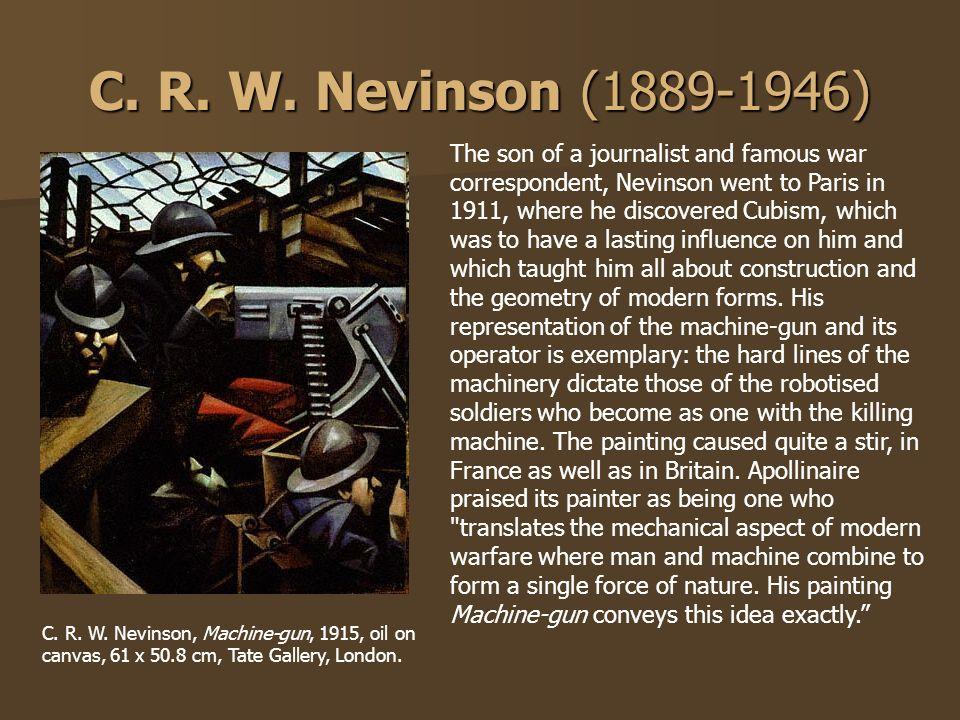 C. R. W. Nevinson (1889-1946)