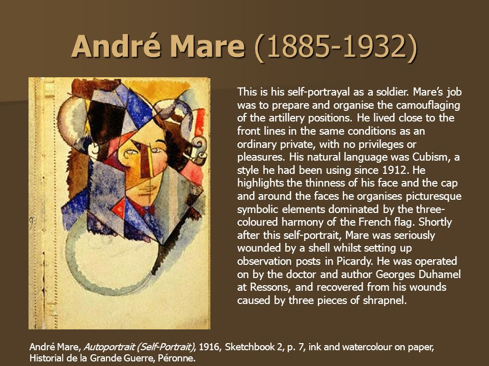 André Mare ( )