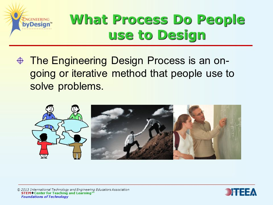 What Process Do People use to Design
