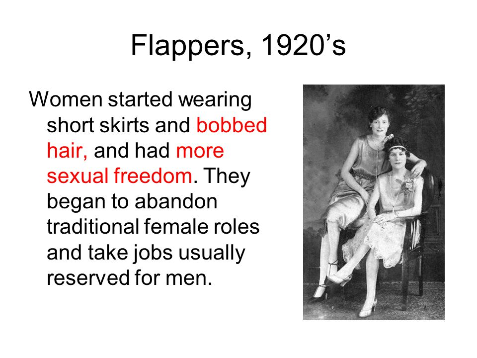 Flappers, 1920's