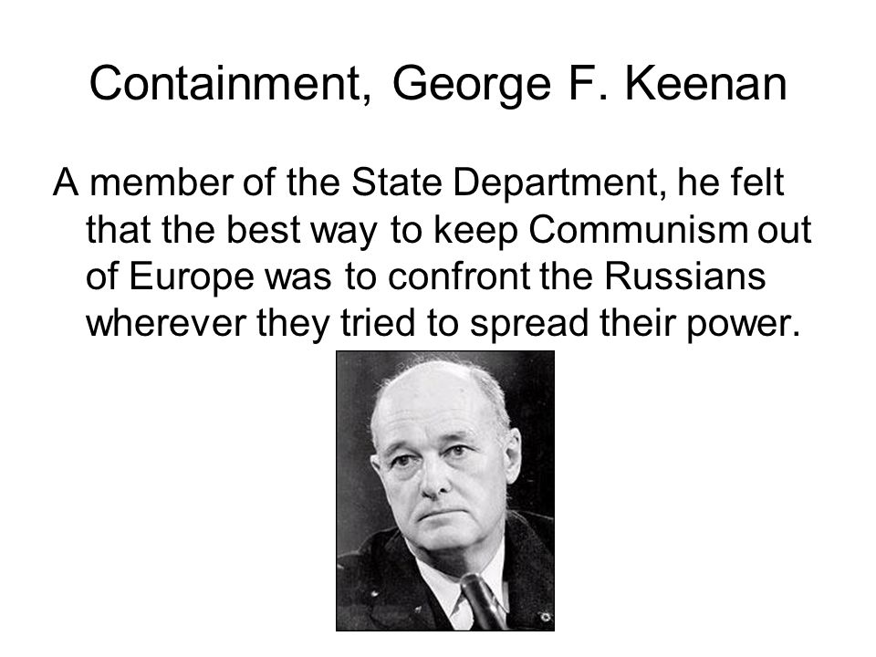 Containment, George F. Keenan