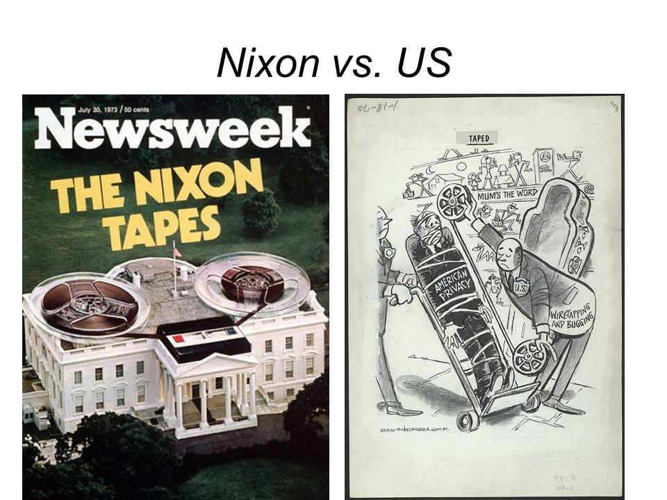 Nixon vs. US