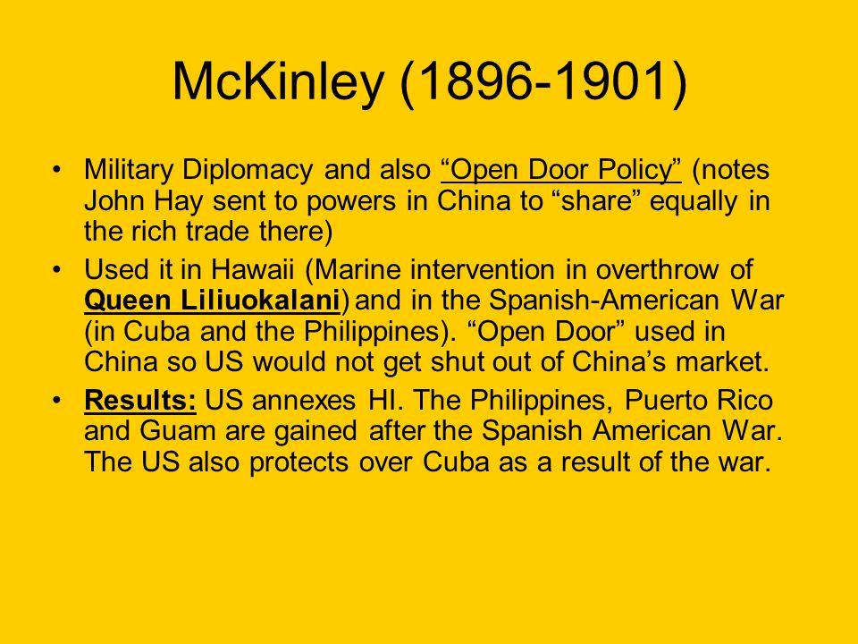 McKinley (1896-1901)