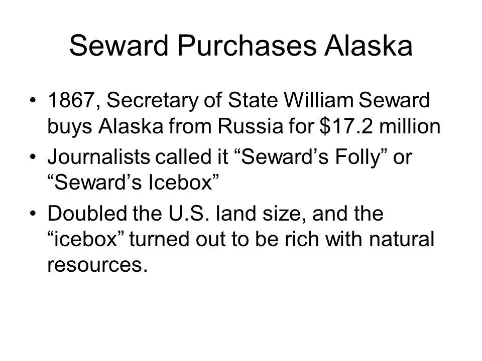 Seward Purchases Alaska