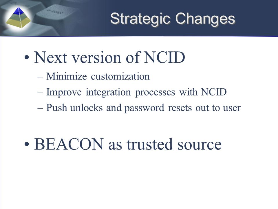 BEACON as trusted source