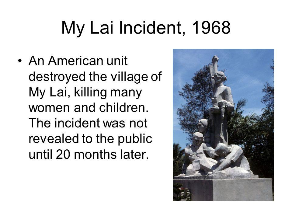 My Lai Incident, 1968