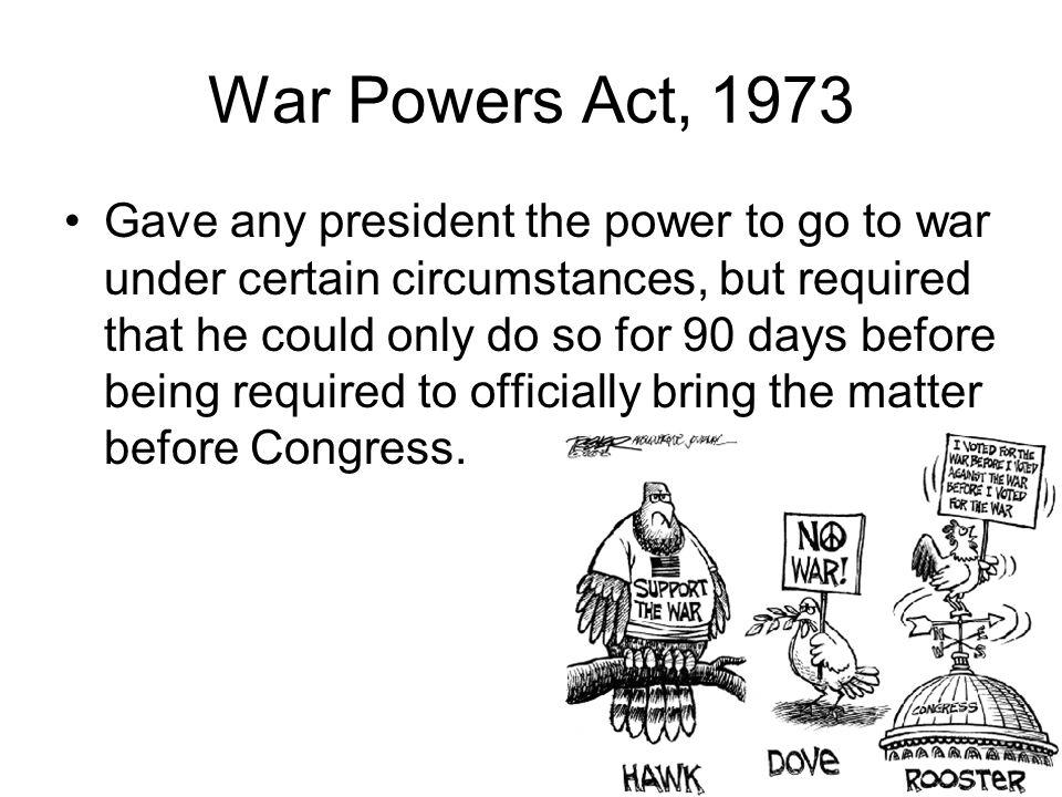 War Powers Act, 1973