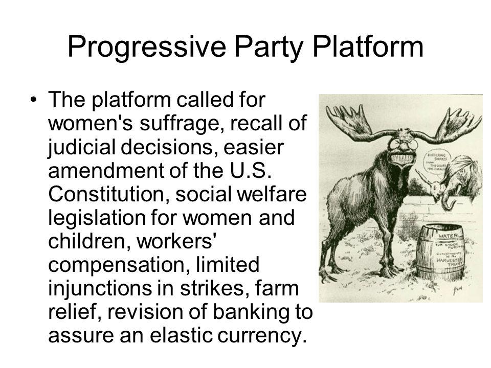 Progressive Party Platform