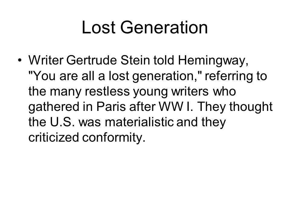 Lost Generation