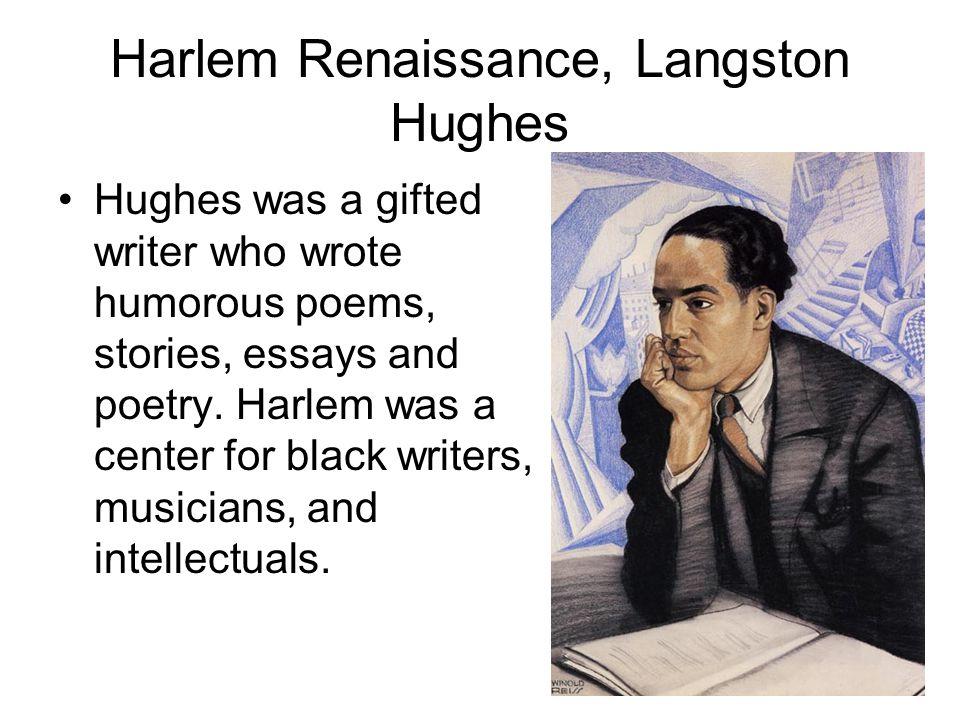 Harlem Renaissance, Langston Hughes