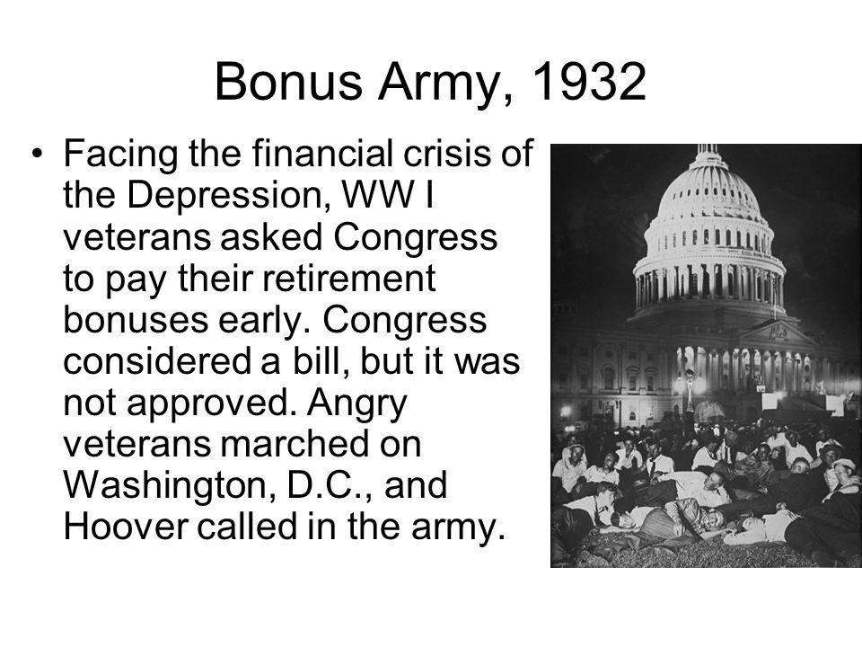 Bonus Army, 1932