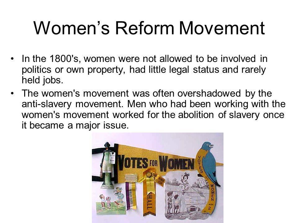 Women's Reform Movement