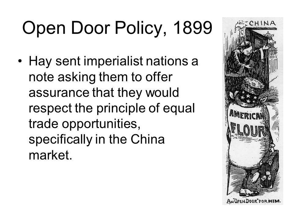 Open Door Policy, 1899