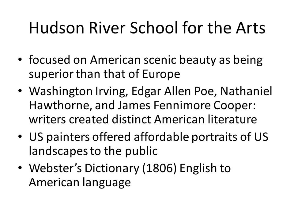 Hudson River School for the Arts