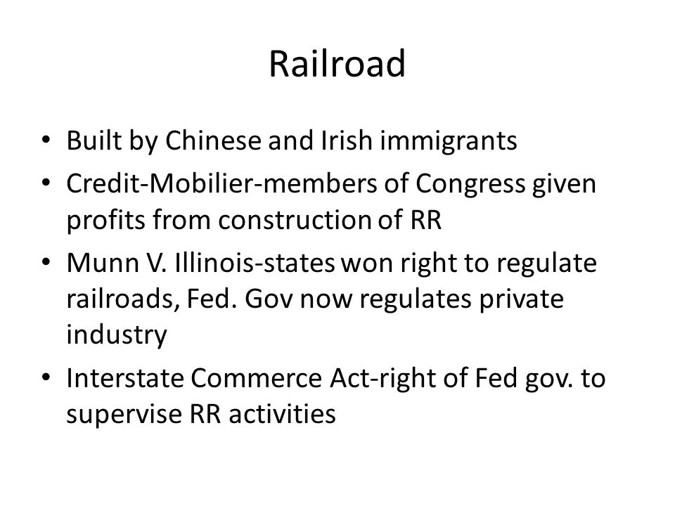 Railroad Built by Chinese and Irish immigrants