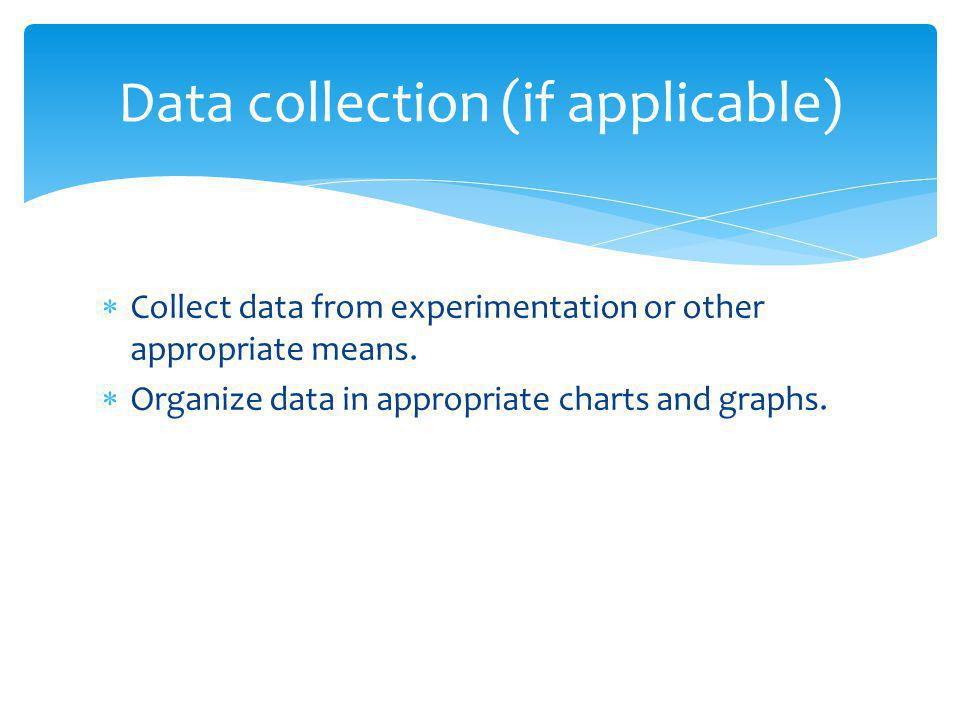 Data collection (if applicable)