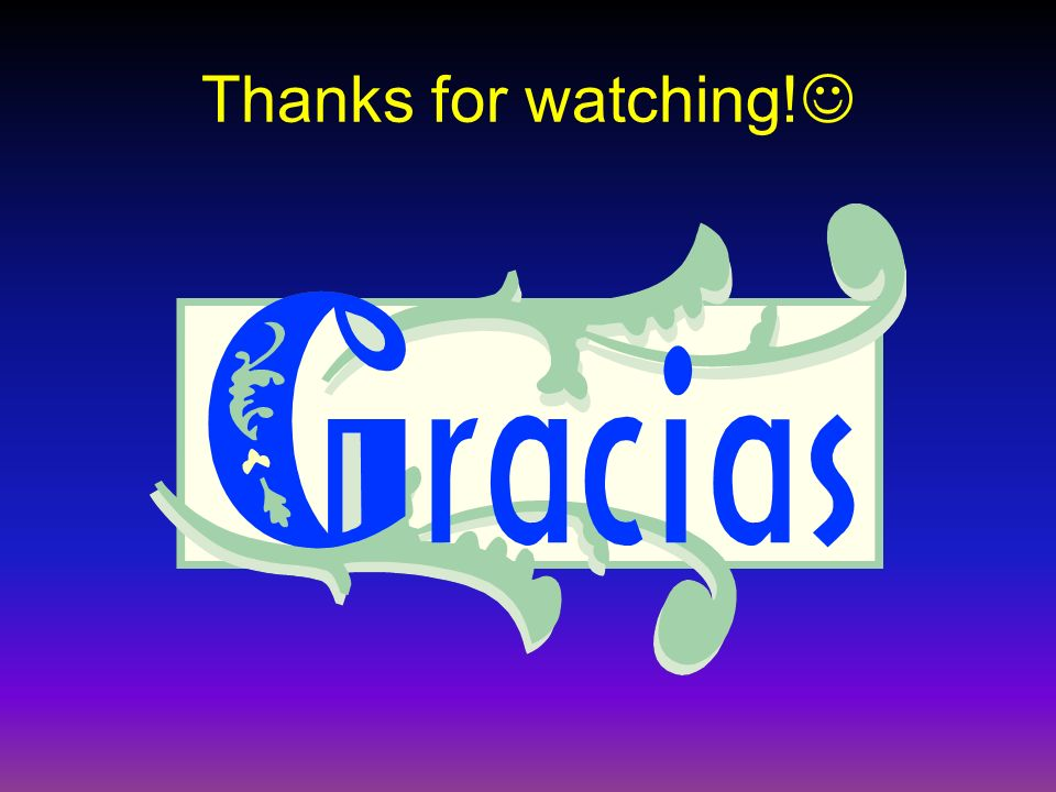Thanks for watching!