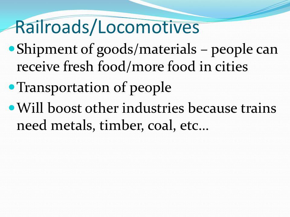 Railroads/Locomotives