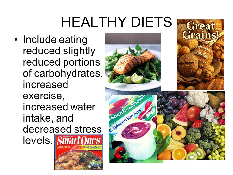 HEALTHY DIETS