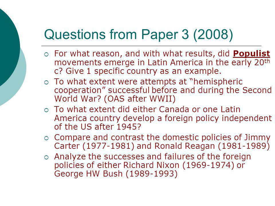 compare and contrast the domestic policies Globalization & terrorism globalization and the united states: positive and negative impacts on american domestic policies harvard university compare and contrast the positive and negative aspects of globalization on us domestic politics.