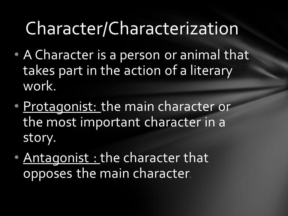 Character/Characterization