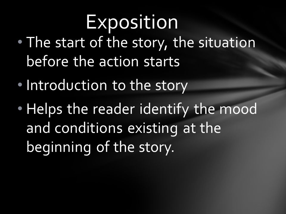 how to start an introduction for an exposition