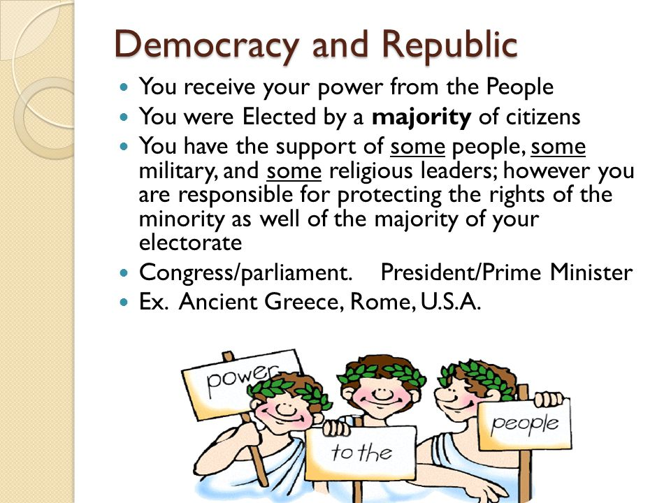 Democracy and Republic