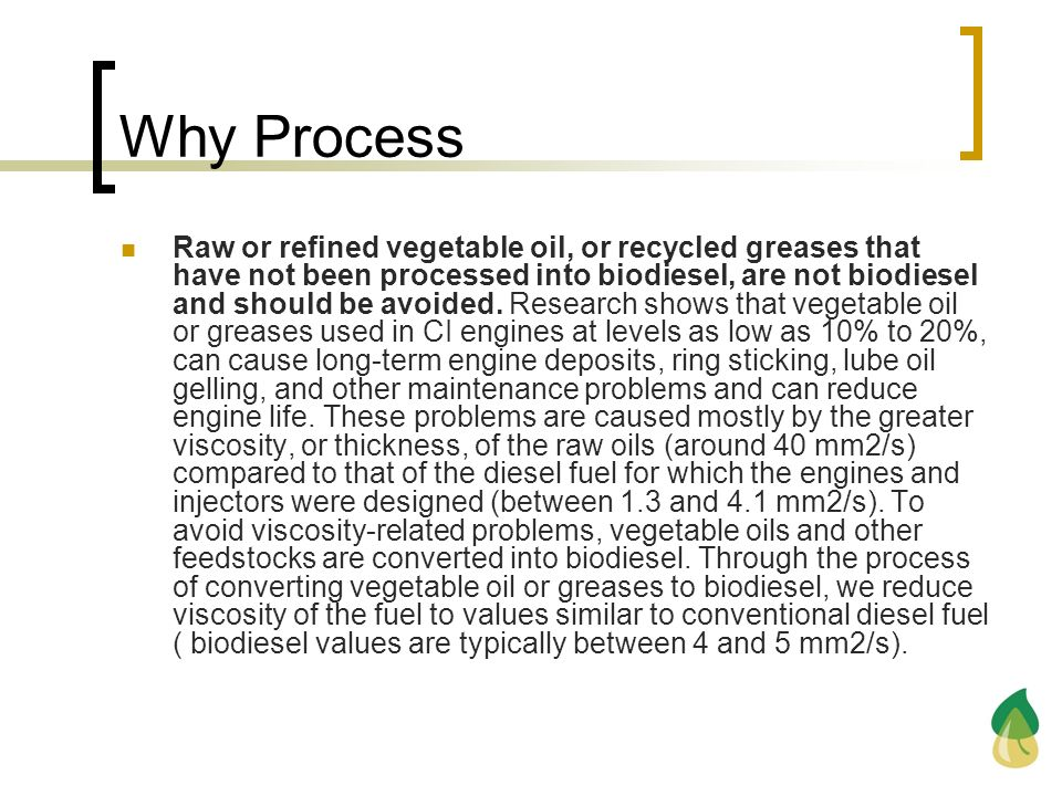 Why Process