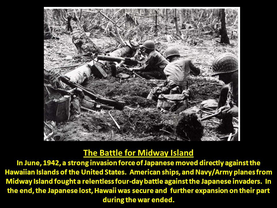 The Battle for Midway Island