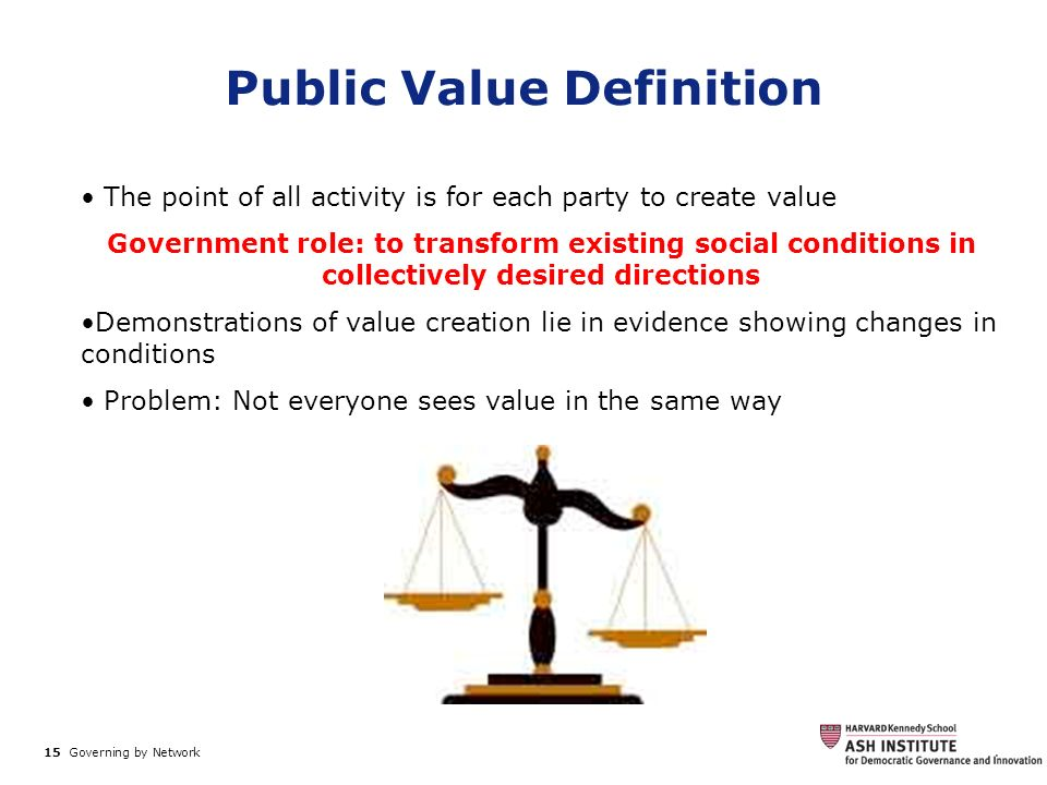 Public Value Definition