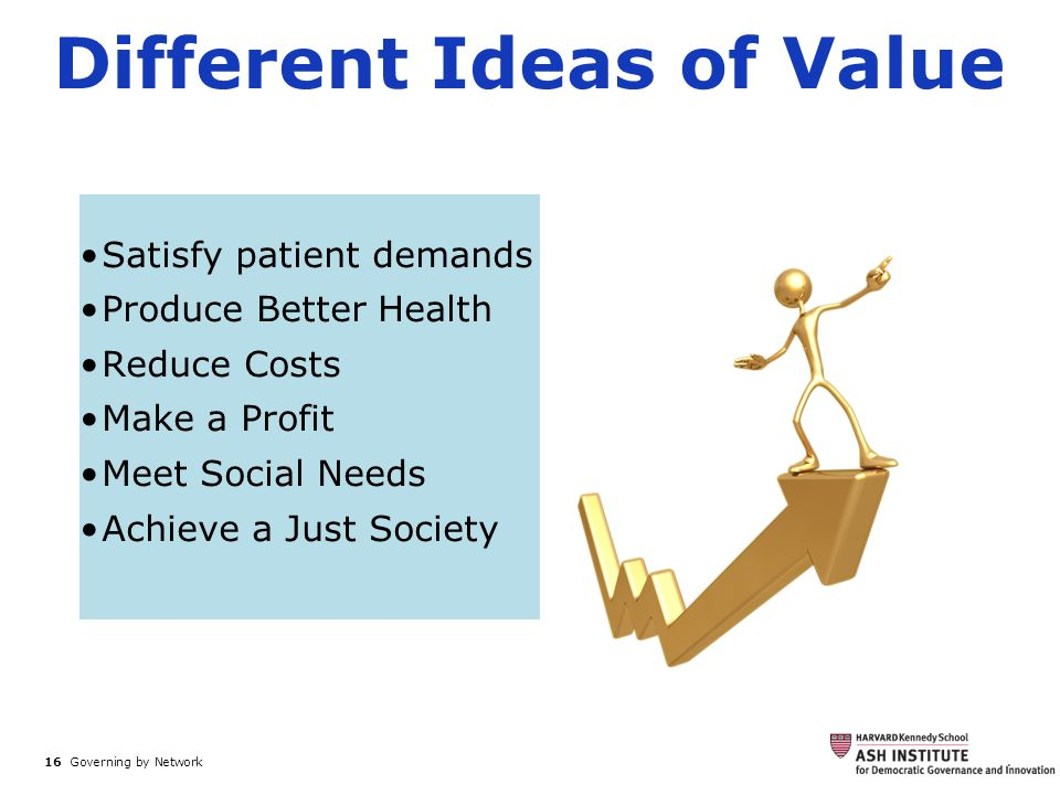 Different Ideas of Value