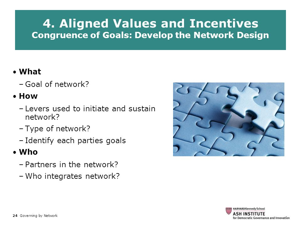 4. Aligned Values and Incentives
