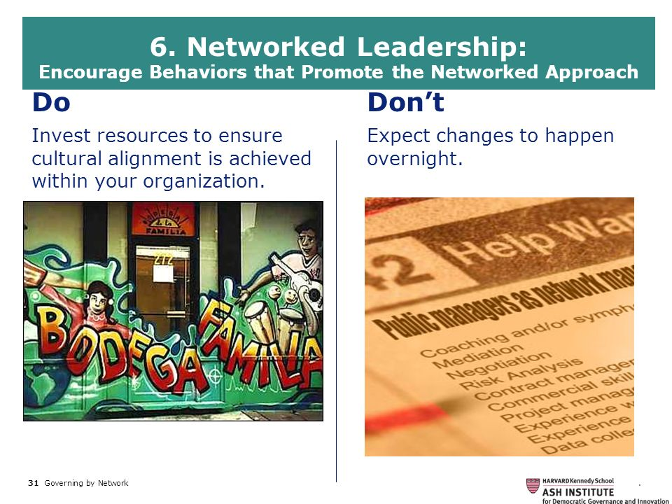 6. Networked Leadership: